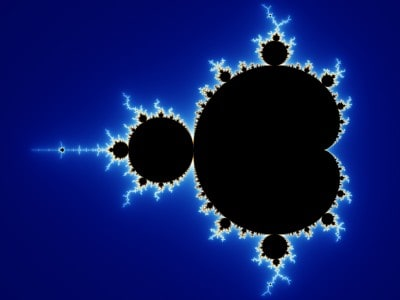 The Mandelbrot set, the most famous example of a fractal