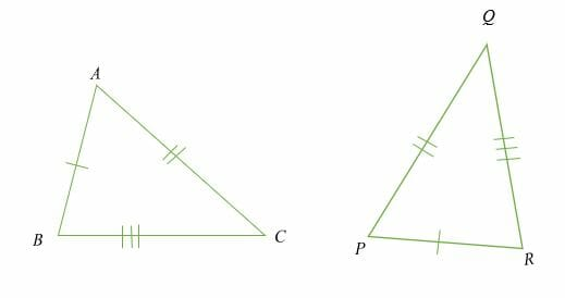 Congruent Triangles Explanation Examples